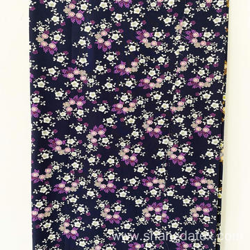 Fast Deliver Time Shaoxing Rayon Screen Print Fabric